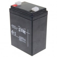 CTM CT2,6-12D Blei-Akku 12 Volt für Waeco PowerVac
