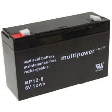 Multipower MP12-6 Bleiakku
