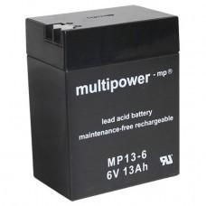 Multipower MP13-6 Bleiakku