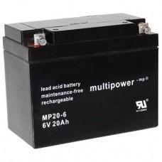 Multipower MP20-6 Bleiakku
