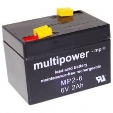 Multipower MP2-6 Bleiakku