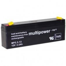 Multipower MP2.2-12 Bleiakku