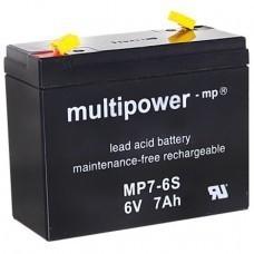 Multipower MP7-6S Bleiakku