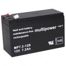 Multipower MP7.2-12B Bleiakku
