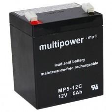 Multipower MP5-12C Bleiakku