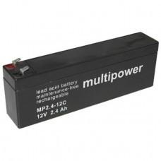 Multipower MP2.4-12C Bleiakku