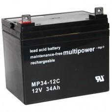 Multipower MP34-12C Bleiakku