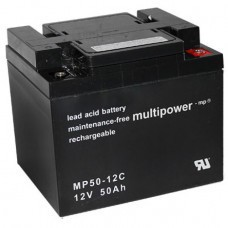Multipower MP50-12C Bleiakku