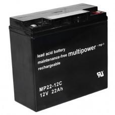 Multipower MP22-12C Bleiakku