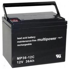 Multipower MP36-12C Bleiakku