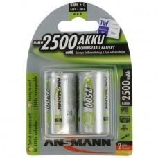 Ansmann Standard C/Baby NiMH Akku 2-Pack