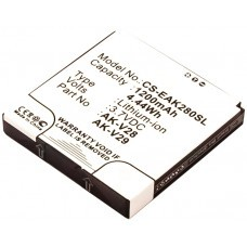 AccuPower Akku für Emporia TALKpremium, TALKplus AK-V28 AK-V29