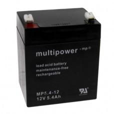 Multipower MP5.4-12 Bleiakku