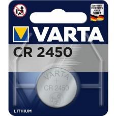 Varta CR2450 Professional Electronic Lithium Batterie