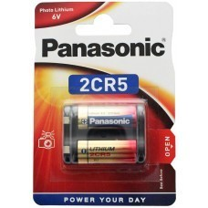 Panasonic 2CR5 6V Photo Power Lithium Batterie