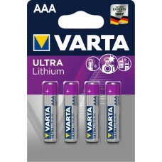 Varta Professional Lithium AAA/Micro Batterie 4-Pack