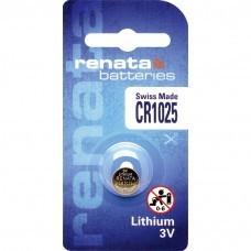 Renata CR1025.CU Lithium Knopfbatterie