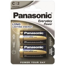Panasonic Standard Power LR14SPS C/Baby Batterie 2-Pack