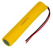 AccuPower Akku für Notleuchten D/Mono/LR20 3,6V 5000mAh