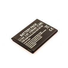 AccuPower Akku passend für Samsung Galaxy Note II, N7100