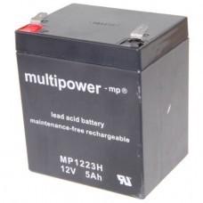 Multipower MP1223H Bleiakku Hochstromfähig 12V 5Ah