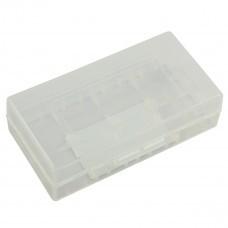 AccuPower AccuSafe, Aufbewahrungsbox für 2x 18650 oder 4x CR123