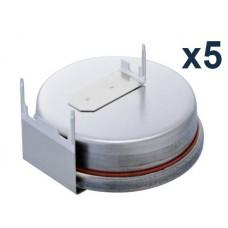 Renata CR2450N.RH-LF mit 3 horizontalen Ableitern RH 5-Pack