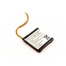Akku passend für TomTom 4EH51, 6027A0117401