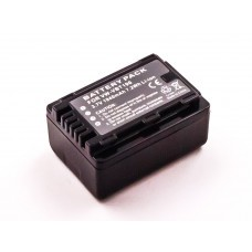 Akku passend für Panasonic HC-V110GK, VW-VBT190