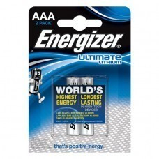 Energizer L92 AAA/Micro Lithium Batterie 2-Pack