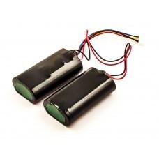 Akku für Beats Pill XL Lautsprecher, Li-ion, 7,4V, 5200mAh, 38,5Wh