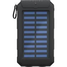 Solar Outdoor Powerbank 8.0 (8.000 mAh) inkl. Taschenlampenfunktion