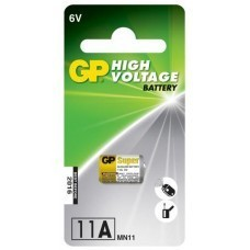 GP Batteries GP11A, 6 Volt Alkaline Batterie High Voltage