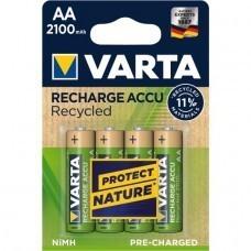 Varta 56816 Recharge Accu Recycled Mignon Akku 4-Blister