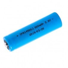 XCell IFR14500 Solar Akku LiFePo4 3,2V 600mAh