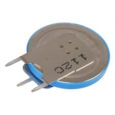 Varta Lithium-Knopfzelle CR2025-SLF Vertikal, Print 2/1++/-