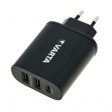 Steckerlader Varta Wall Charger für USB und USB-C Ladegerät