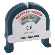 Ansmann Battery Tester für Knopfzellen und Rundzellen