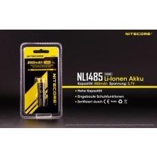 Nitecore NL1485 Li-Ion Akku 14500 AA/Mignon 3,7V 850mAh