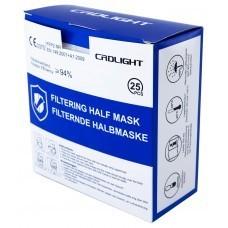 25-Pack FFP2 Maske / Atemschutzmaske mit Nasenbügel CE Zertifiziert