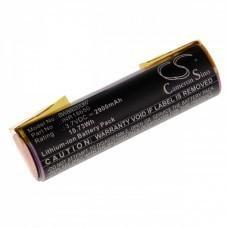 Akkuzelle für Bosch Ciso, ACCU60, 3.7V, Li-Ion, 2900mAh mit U-Flachstecker Faston