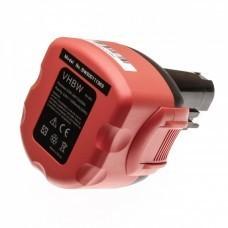 VHBW Akku passend für Bosch 2607335272, 9,6V NiMH
