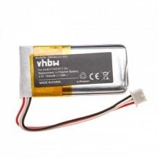 VHBW Akku für Sennheiser BAP800, Li-Polymer, 3.7V, 350mAh, AHB571935PCT-03