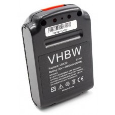 VHBW Akku für Black & Decker LBXR20, 20V, Li-Ion, 2000mAh