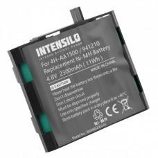 INTENSILO Akku für Compex Energy, Edge, Fit, 4.8V, NiMH, 2300mAh