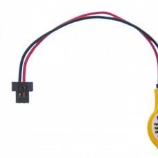 CMOS Lithium Batterie CR2025 mit 2 Pin Stecker