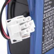 VRLA-AGM Akku für Philips M1722A/B, 12V, 4500mAh, Blei-Vlies