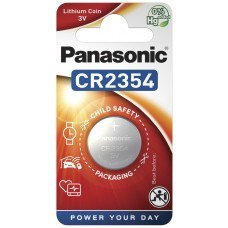 Panasonic CR2354 Lithium Batterie mit Vertiefung am Minuspol, Blister