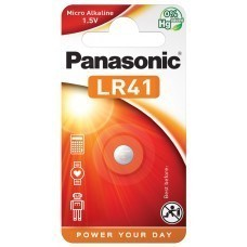 Panasonic Knopfzelle AG3, SR41, SR41W, L736F, LR41, V392