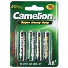 Camelion R06 Zink-Kohle AA/Mignon Batterie 4-Blister